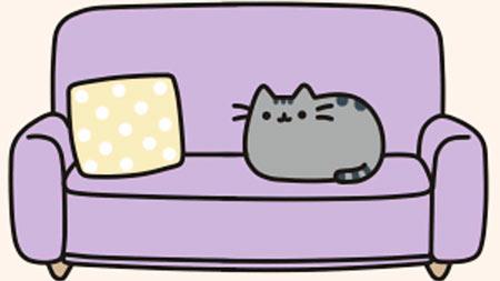 Pusheen's sofa
