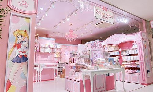 Sailor Moon Store pink