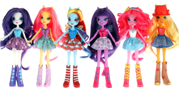 Equestria Girls dolls