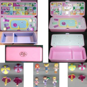 Polly pool party playset