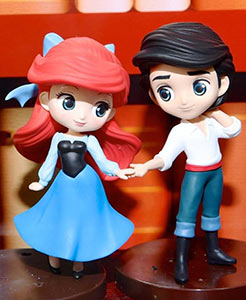 Qposket Disney Ariel Prince Eric