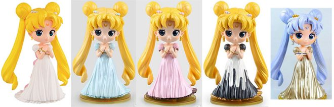 Qposket Sailor Moon Princess Serenity
