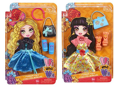 Vi and Va Felicia and Roxxi fashion packs