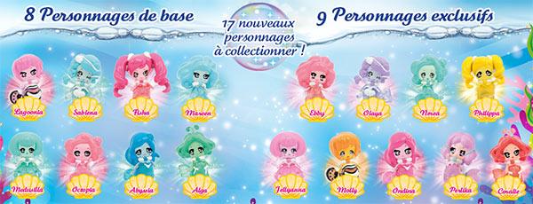 Glimmies Aquaria personnages V2