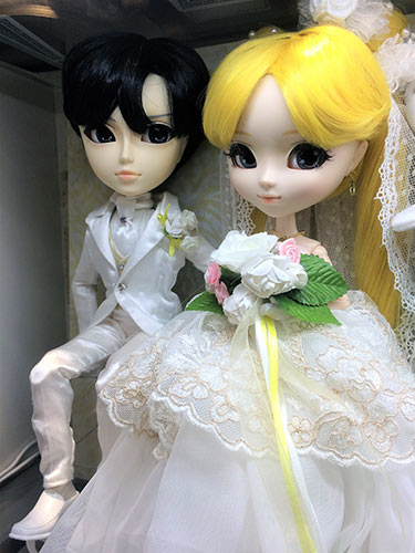 Pullip Usagi wedding version Kiddyland Harajuku