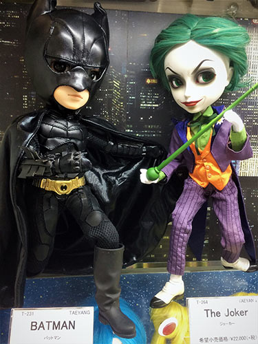 Taeyang The Joker Batman Kiddyland Harajuku