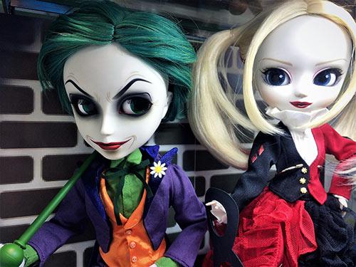 Taeyang The Joker Pullip Harley Quinn Batman