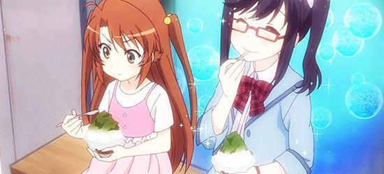 Food kakigori japanese ice