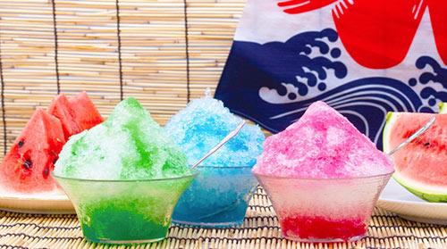 Kakigori summer