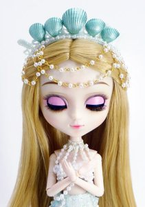 Zoom Pullip Pisces closed eyes