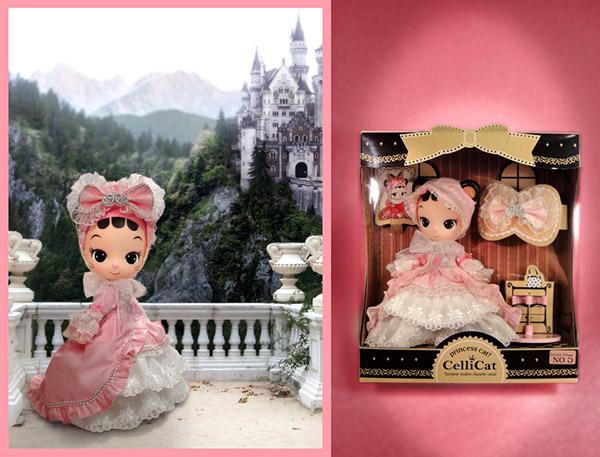 Romantic pink princess cellicat