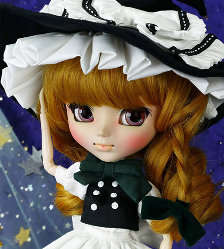 Pullip Marisa Kirisame close up make up zoom