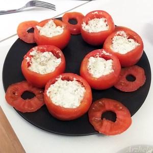 Arzhela tomates farcies a la ricotta