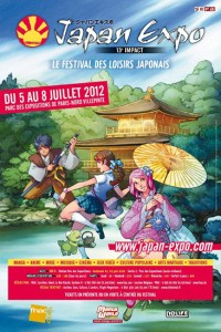 Japan Expo 2012 flyer