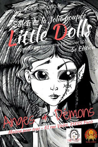 Salon Little Dolls Paris 5