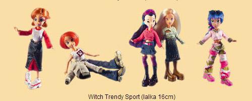 Disney Witch dolls trendy sport 16 cm