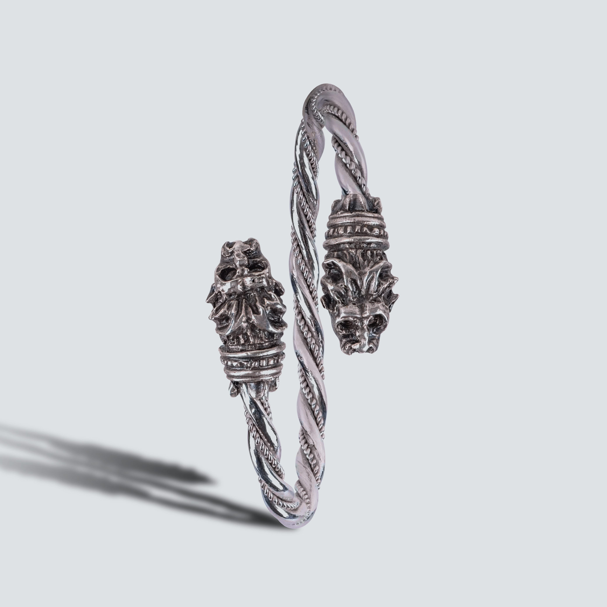 Twisted Lion Bangle