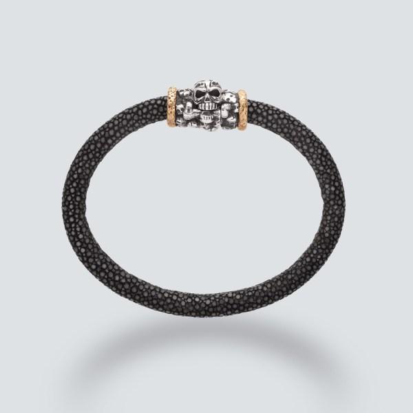 Stingray Skull Bracelet