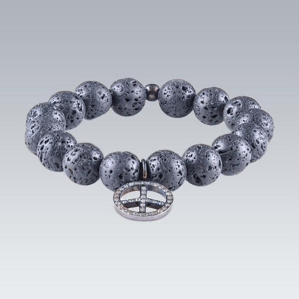 Peace Bead Bracelet