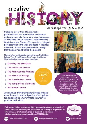 Creative History Workshops