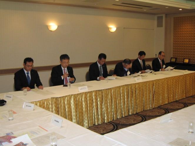 札幌にて行われた、日測協北海道支部表彰式の様子