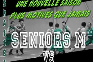 1er match amical pour les séniors garçons le 8 septembre à 20h30