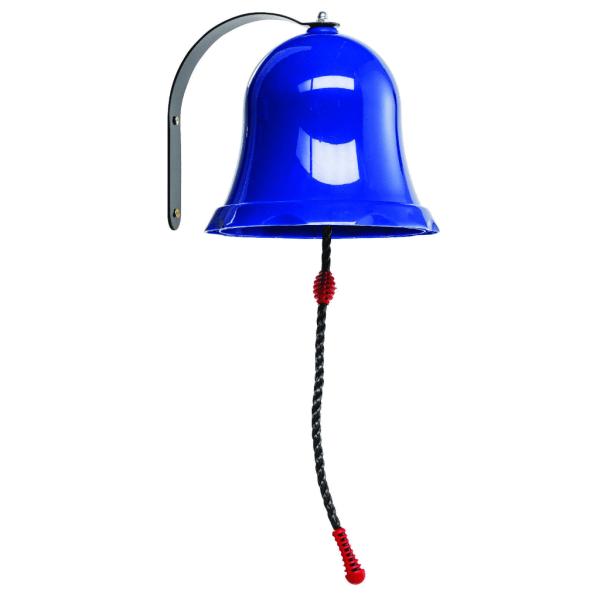 Schiffsglocke Glocke rot grün blau