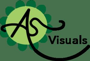 AS Visuals logo x2
