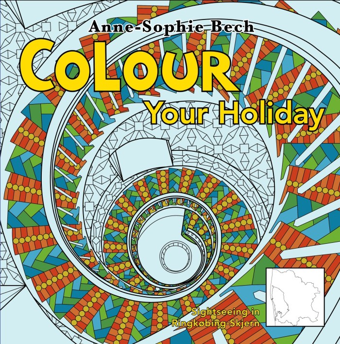 Colour Your Holiday - Sightseeing in Ringkøbing-Skjern - Voksen cover