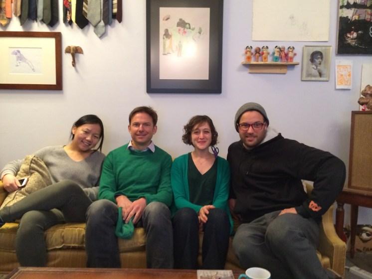 Pang, Andy, Amaranth, and Chris