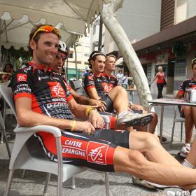 Valverde preparó el asalto a la Vuelta en la jornada de descanso
