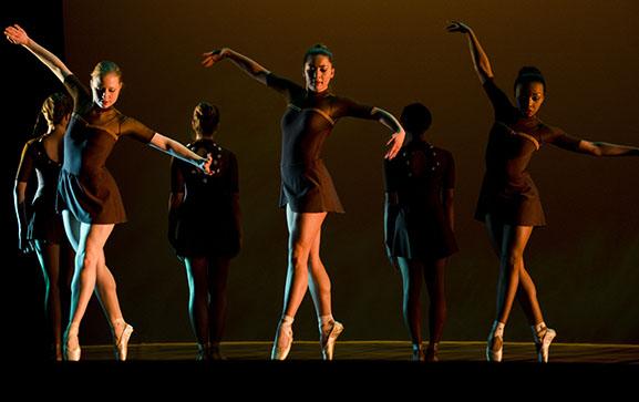 three female dancers