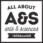 All About A&S social media campaign logo