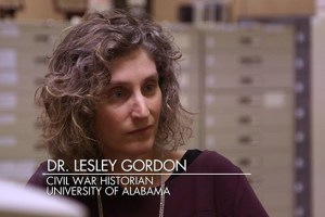 "Dr. Lesley Gordon helps actor Noah Wyle learn about his family history on an episode of ""Who Do You Think You Are?"""