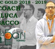 annuncio luca - COACH LUCA SACCO E' LA NUOVA GUIDA DELLA 5PARI TORINO