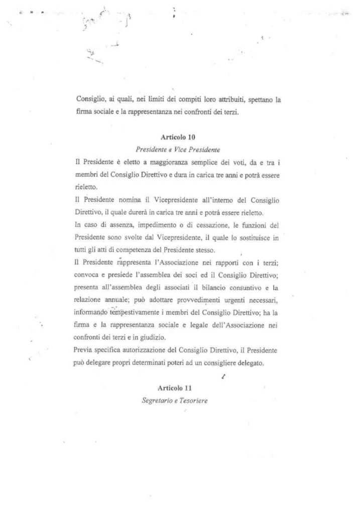 ASD 5 PARI STATUTO 15 - STATUTO