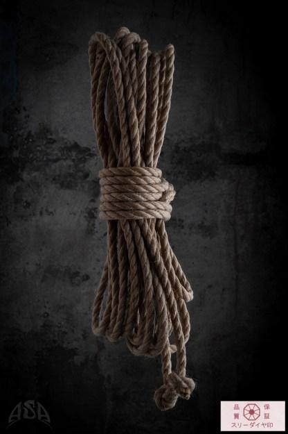 corde japonaise pour la pratique du shibari - kinbaku (bondage japonais)