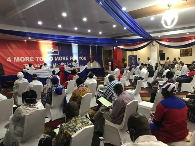 NPP acclaims Akufo-Addo at the Alisa, 27.6.2020