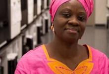 Photo of Sierra Leone journalist Sylvia Olayinka Blyden detained