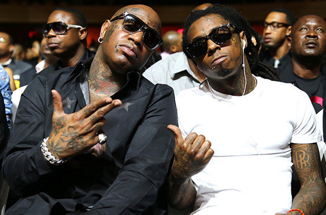 American Rappers Lil Wayne and Birdman