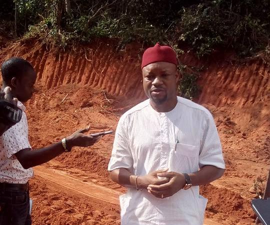 Road Construction In Issele-Uku