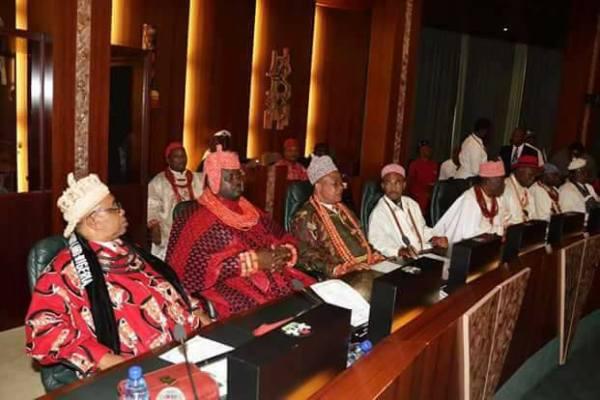 Niger Delta Leaders Meet President Buhari
