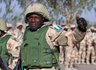 Nigeria Military Fighting Boko Haram Terrorists