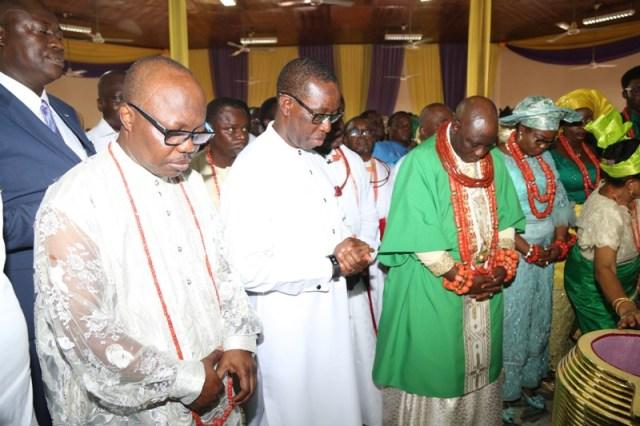 His Majesty OGIAME IKENWOLI, Olu of Warri Kingdom