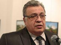 Russia's ambassador to Turkey Andrei Karlov