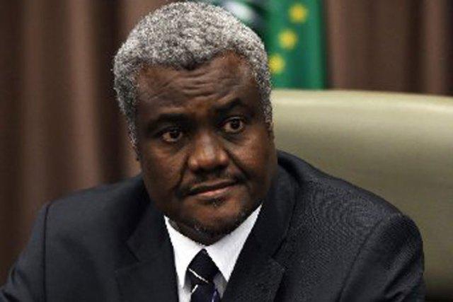African Union Commission chairman Moussa Faki Mahamat
