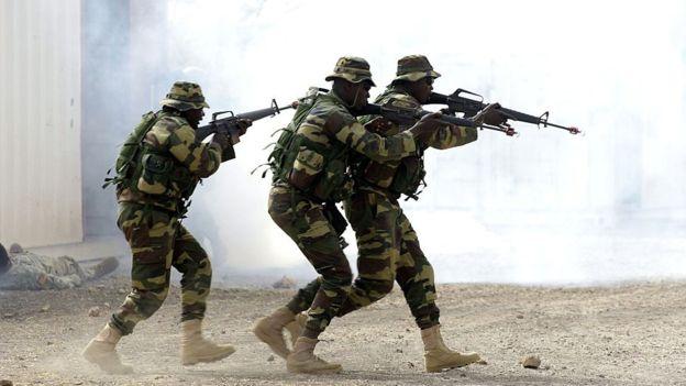 ECOWAS Soldiers