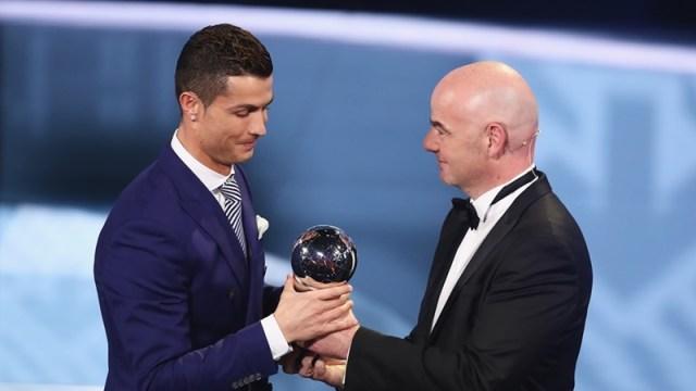 FIFA Crowns Cristiano Ronaldo The Best Men's Player 2016
