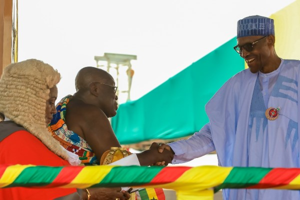 Nana Akufo-Addo Sworn in as Ghana's New President