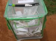 Nigeria Election Ballot Box